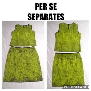 Per Se Skirt and Top